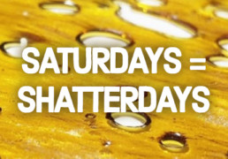Dabs, concentrates, and vape discounted at cannabis shop