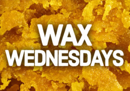 Cannabis wax discount at cannabis shop